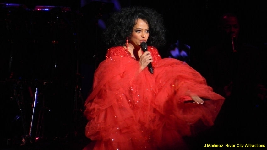 Diana Ross At The Majestic River City Atttractions